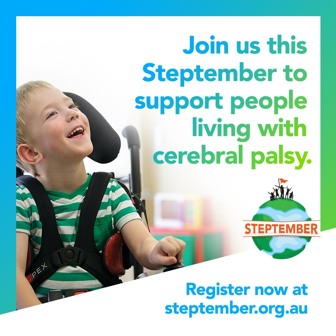 Stepping Up for Cerebral Palsy
